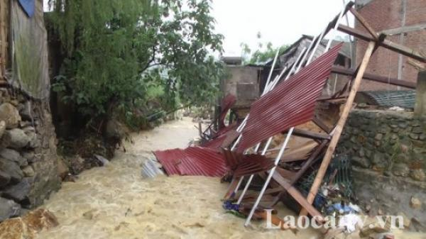 Mưa lớn gây nhiều thiệt hại tại các địa phương của Lào Cai