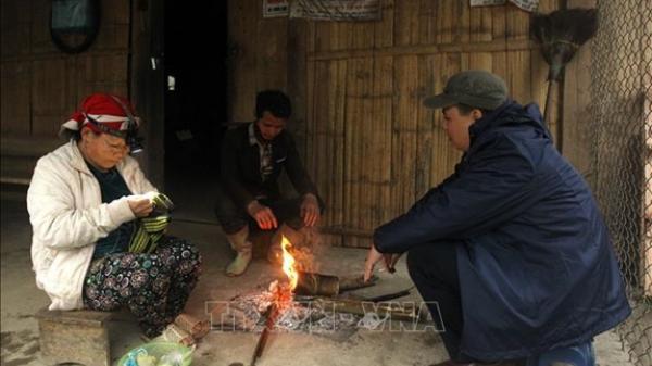Mùa Đông đến sớm ở Lào Cai, Bắc Hà và Sa Pa chuyển sang rét đậm