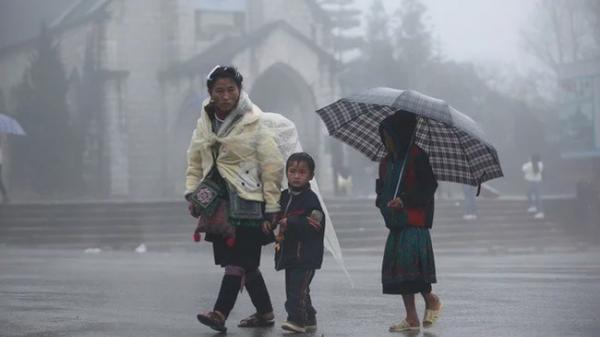 Không khí lạnh sắp sửa tăng cường xuống Lào Cai