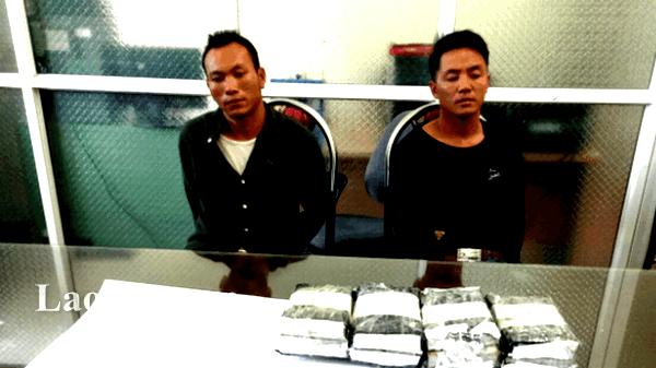 Lào Cai: Bắt giữ 02 đối tượng mua bán, tàng trữ 08 bánh heroin