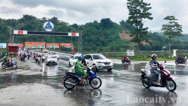 Thời tiết ngày và đêm 11/10: Lào Cai có mưa rào và dông rải rác