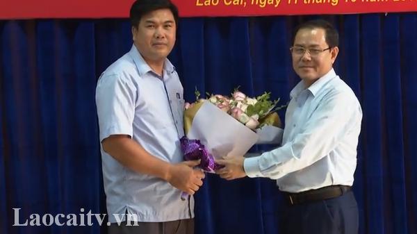 Công bố quyết định điều động, bổ nhiệm Phó Trưởng Ban Dân tộc tỉnh Lào Cai