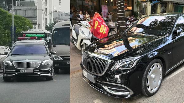 Mercedes-Maybach S 650 hàng hiếm của đại gia Lào Cai gặp nạn tại Hà Nội