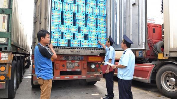 Giảm nhanh ùn tắc thanh long ở cửa khẩu Lào Cai