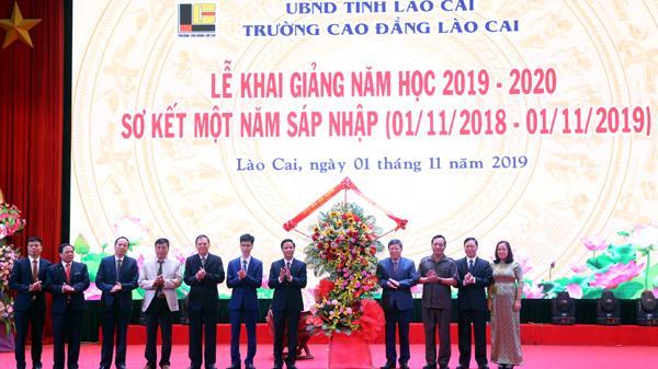 Trường Cao đẳng Lào Cai khai giảng năm học 2019 - 2020