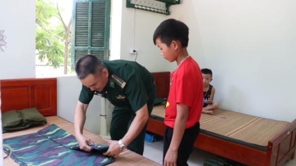 BĐBP Lào Cai: Nhận 22 cháu học sinh có hoàn cảnh khó khăn về nuôi dưỡng tại đồn Biên phòng