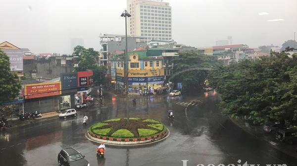 Thời tiết ngày 14/11: Lào Cai có mưa, mưa rào và dông rải rác