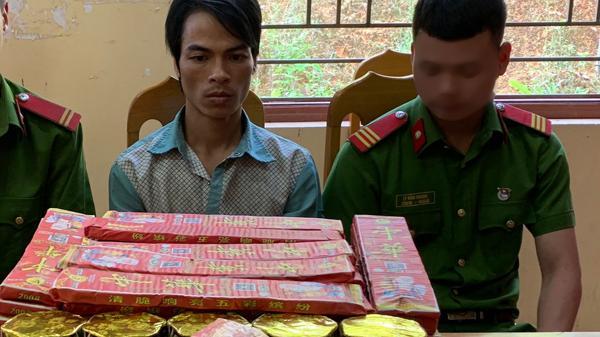 Lào Cai: Bắt giữ đối tượng tàng trữ 27kg pháo