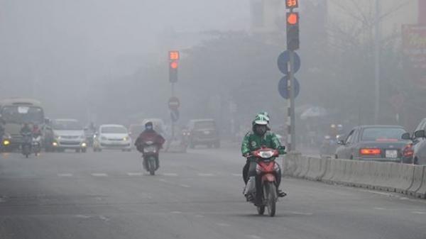 CẢNH BÁO: Ô nhiễm không khí lại tái diễn khắp miền Bắc
