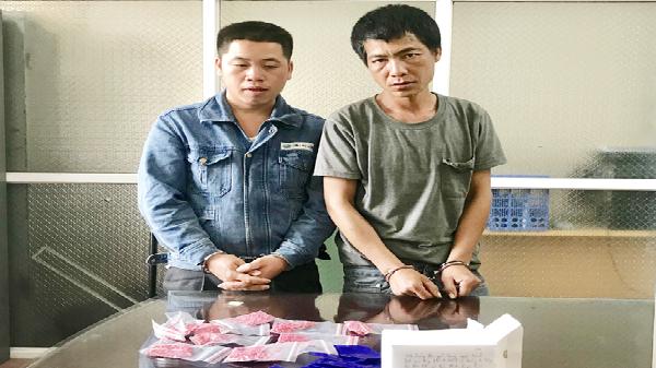 Lào Cai: Bắt 2 đối tượng vận chuyển trái phép gần 2.000 viên ma túy tổng hợp