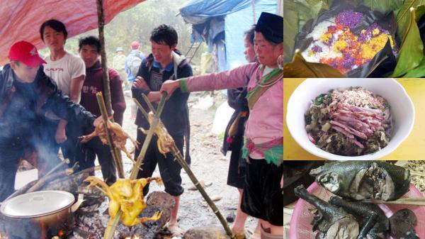 Đậm đà ẩm thực chợ phiên vùng cao Lào Cai