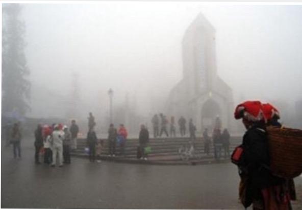 Không khí lạnh tăng cường xuống Lào Cai
