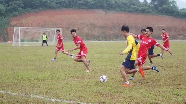Khai mạc Giải vô địch bóng đá tỉnh Lào Cai