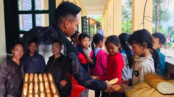 Chàng trai Lào Cai trắng đêm chuẩn bị hơn 2000 chiếc bánh mì nóng hổi tặng bà con quê hương