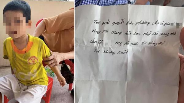 """Xót xa bé trai bị bố bỏ rơi kèm lời nhắn: """"Tôi nhờ tòa mang trả lại cho mẹ nó, tôi không đẻ, tôi không nuôi"""""""