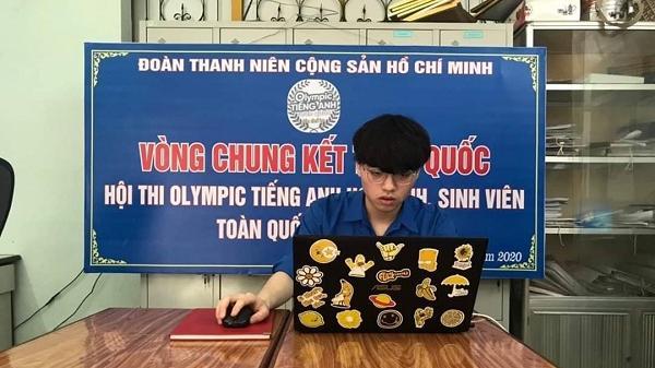 Một học sinh Bảo Yên giành giải Ba Hội thi Olympic tiếng Anh học sinh, sinh viên toàn quốc