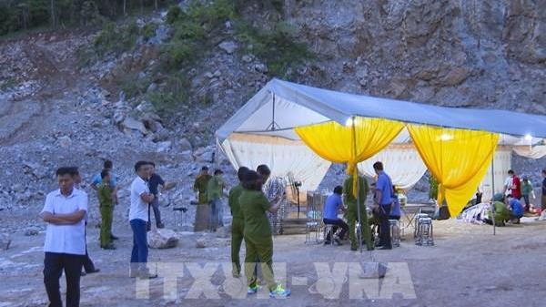 Điện Biên: Tai nạn lao động tại mỏ đá khiến 2 người tử vong, 1 người chưa tìm thấy