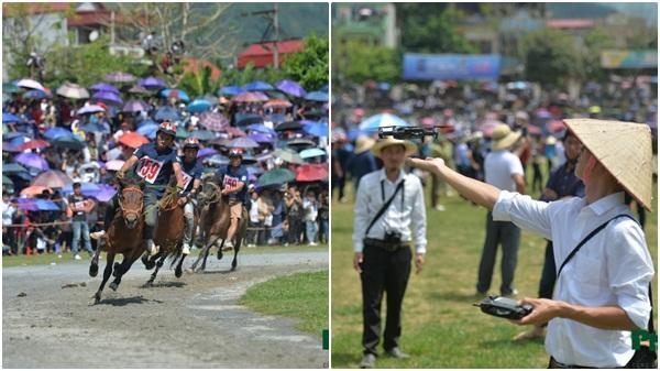 """Xem cách Youtuber """"chân đất"""" tường thuật trực tiếp giải đua ngựa ở Lào Cai"""