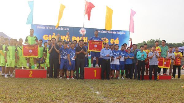 Đội Bảo Yên giành ngôi vô địch Giải bóng đá tỉnh Lào Cai