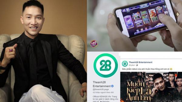 """""""Giang hồ mạng"""" Huấn Hoa Hồng ngang nhiên làm MV quảng cáo game đánh bạc: Có thể bị xử lý hình sự"""