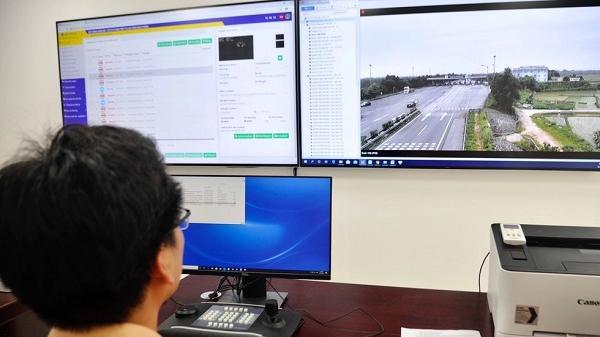 Cục CSGT gắn 110 camera giám sát trên cao tốc Hà Nội – Lào Cai