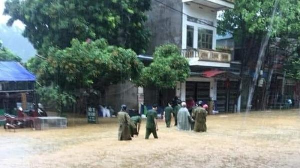 Mưa to khiến nhiều khu vực ở Lào Cai có nguy cơ sạt lở đất cao