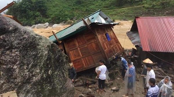 Miền núi phía Bắc thiệt hại nặng vì mưa lớn, lũ quét, sạt lở đất