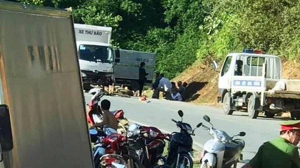 Tây Bắc: Xe tải va chạm xe máy, một người nguy kịch