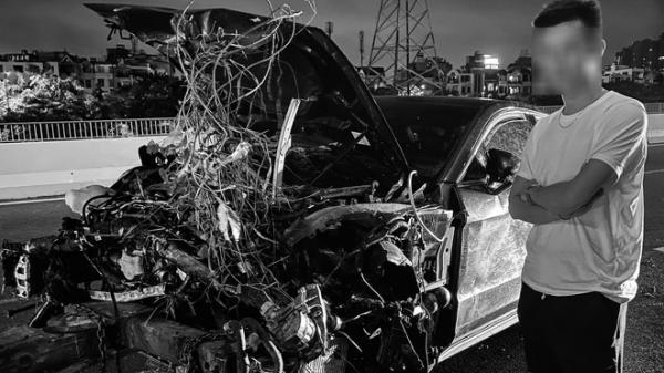 Vừa sang tay chủ mới 11 tỷ, chàng trai 26 tuổi xót xa khi siêu xe Porsche lao xuống cầu, hư hỏng nặng