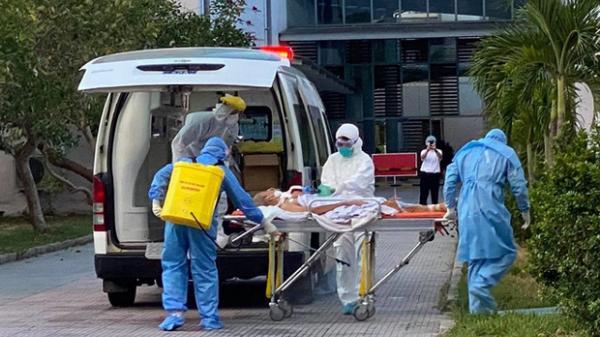 Bệnh nhân 418 âm tính SARS-CoV-2 lần 1 nhưng tiên lượng nặng