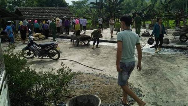 Tây Bắc: Nam thanh niên dùng bình ga châm lửa đốt nhà, sau đó được phát hiện tử vong dưới ao