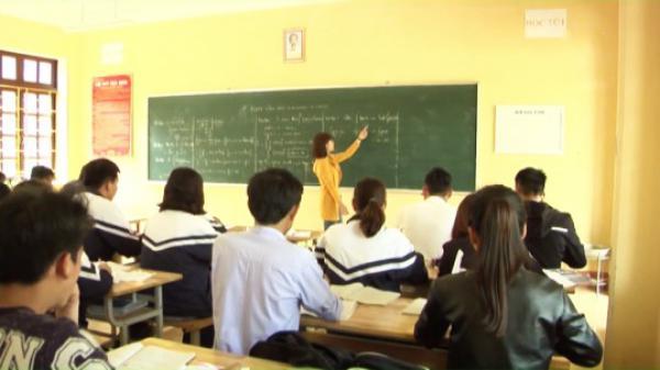 Lào Cai tuyển dụng 101 giáo viên THPT năm 2017