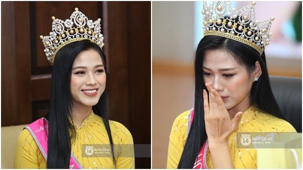 Hoa hậu Đỗ Thị Hà lần đầu về thăm Đại học Kinh tế Quốc dân: Nhan sắc đỉnh cao, bật khóc khi nhắc đến bức ảnh gây sốt