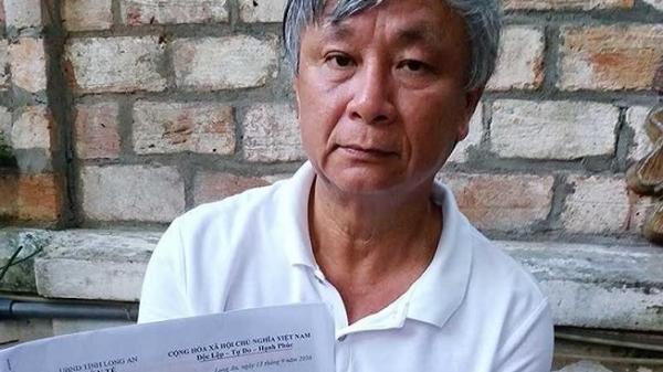 Nguyên giám đốc sở Y tế Long An khiếu nại vì bị khởi tố