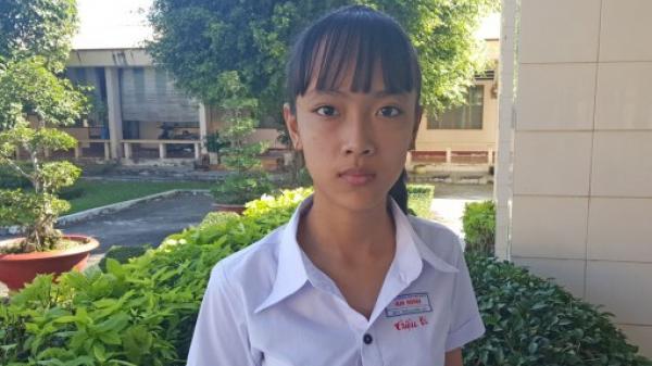 Nghị lực của cô học trò nghèo ở Long An