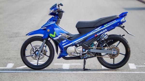 """Tận mắt chiếc Yamaha Z125R độ """"full"""" đồ đường đua độc nhất Việt Nam của một tay chơi trẻ Long An"""