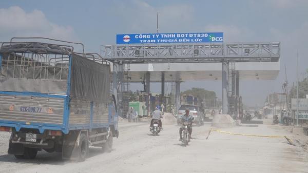 Gấp rút hoàn thành công trình mở rộng Đường tỉnh 830 (đoạn Đức Hòa-Bến Lức)