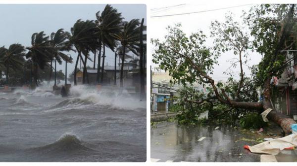 Nóng: Áp thấp nhiệt đới đã mạnh lên thành bão số 9, giật cấp 10
