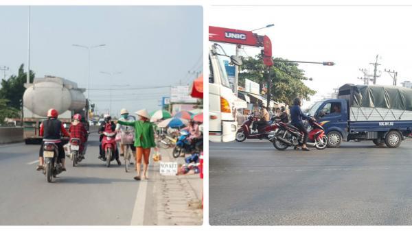 Long An: Tiềm ẩn nguy cơ mất an toàn giao thông trên nhiều tuyến đường