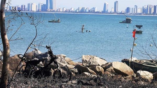 Đà Nẵng: Đường lên bán đảo Sơn Trà bị phong tỏa vì hỏa hoạn