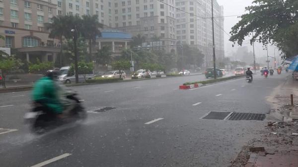 Mưa dông có thể gây ngập ở TP Hồ Chí Minh trong 10 ngày tới