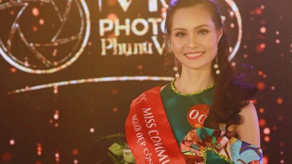 """Người đẹp Long An đoạt giải """"Người đẹp cộng đồng"""" ở Miss Photo 2017"""