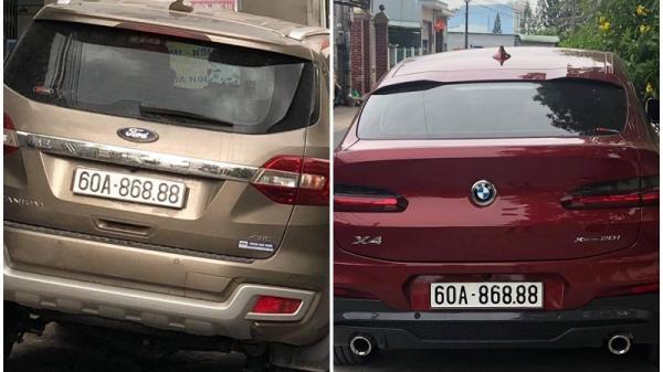 Đồng Nai: Làm rõ hai xe ô-tô có trùng biển số 60A-868.88