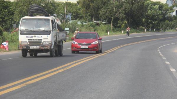 """Đã """"nắn"""" thẳng 3 đoạn đường cong trên QL1 qua Bình Thuận"""