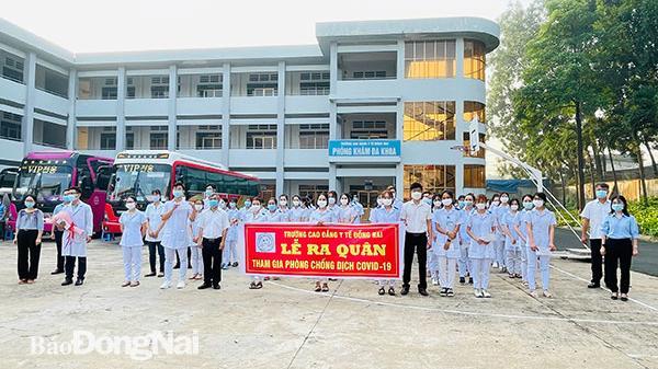 Hơn 200 cán bộ, giảng viên, sinh viên y khoa Nam Định chi viện cho Đồng Nai