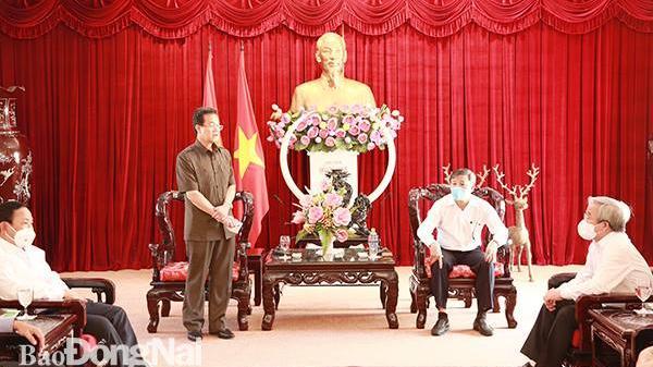 Tỉnh An Giang tặng Đồng Nai 65 tấn gạo