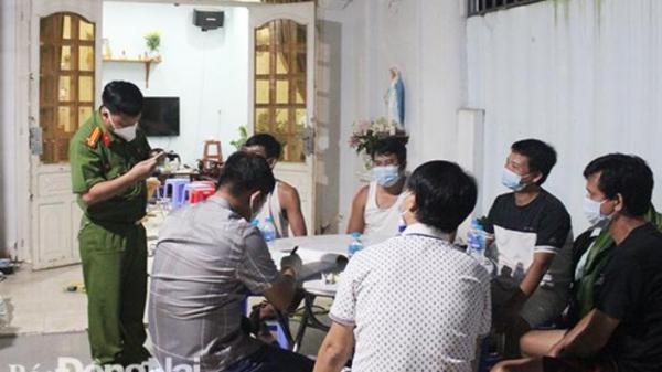 Đồng Nai: Tụ tập ăn nhậu bất chấp phòng chống dịch Covid -19 bị phạt 75 triệu đồng