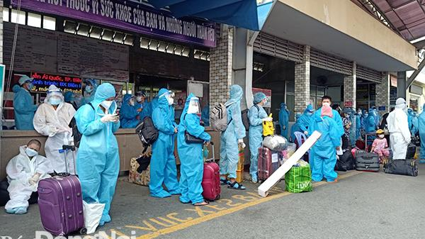 Hỗ trợ 650 công dân từ Đồng Nai về tỉnh Phú Yên phòng dịch