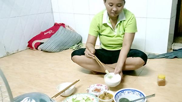 Bữa cơm công nhân thời dịch