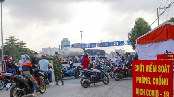 Đồng Nai chưa cho người lao động đi xe cá nhân từ TP.HCM đến